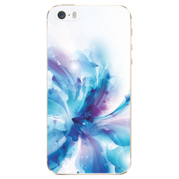 Odolné silikonové pouzdro iSaprio - Abstract Flower - iPhone 5/5S/SE