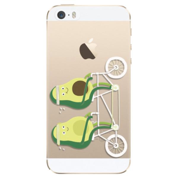 Odolné silikonové pouzdro iSaprio - Avocado - iPhone 5/5S/SE