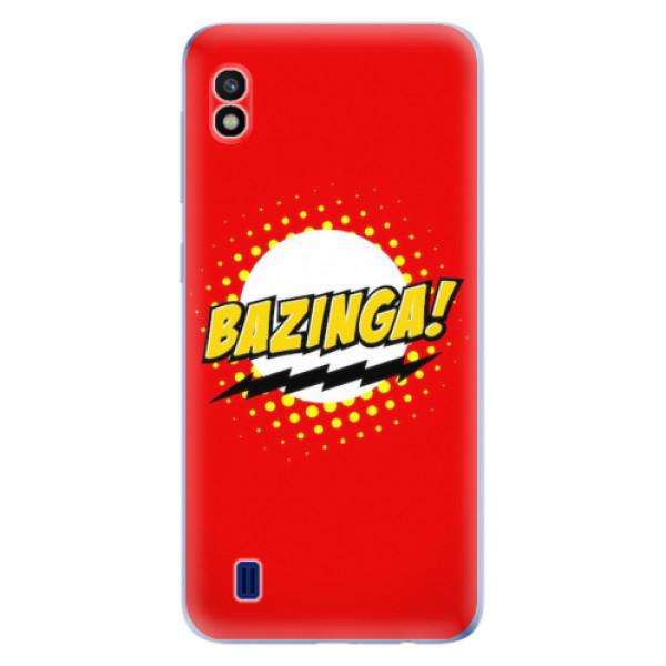 Odolné silikonové pouzdro iSaprio - Bazinga 01 - Samsung Galaxy A10