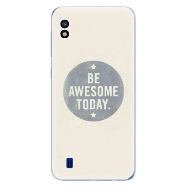 Odolné silikonové pouzdro iSaprio - Awesome 02 - Samsung Galaxy A10