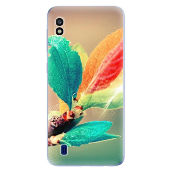 Odolné silikonové pouzdro iSaprio - Autumn 02 - Samsung Galaxy A10