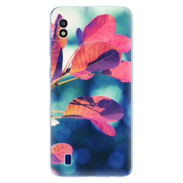 Odolné silikonové pouzdro iSaprio - Autumn 01 - Samsung Galaxy A10