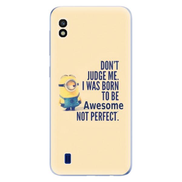 Odolné silikonové pouzdro iSaprio - Be Awesome - Samsung Galaxy A10