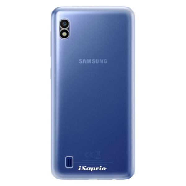 Odolné silikonové pouzdro iSaprio - 4Pure - mléčný bez potisku - Samsung Galaxy A10