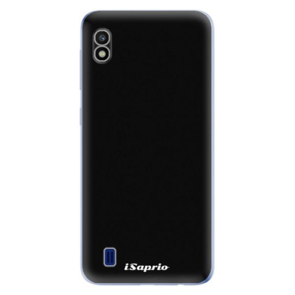 Odolné silikonové pouzdro iSaprio - 4Pure - černý - Samsung Galaxy A10