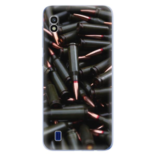 Odolné silikonové pouzdro iSaprio - Black Bullet - Samsung Galaxy A10