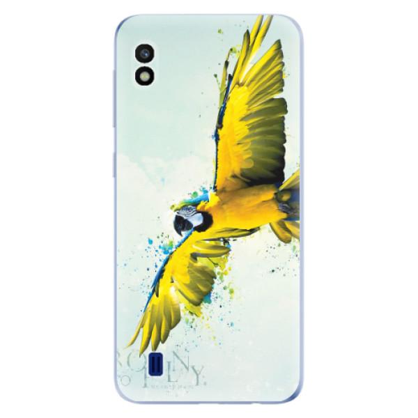 Odolné silikonové pouzdro iSaprio - Born to Fly - Samsung Galaxy A10