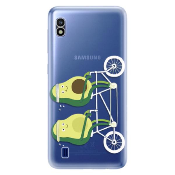 Odolné silikonové pouzdro iSaprio - Avocado - Samsung Galaxy A10