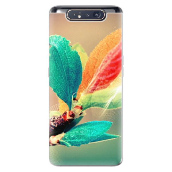 Odolné silikonové pouzdro iSaprio - Autumn 02 - Samsung Galaxy A80