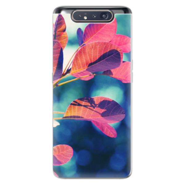 Odolné silikonové pouzdro iSaprio - Autumn 01 - Samsung Galaxy A80