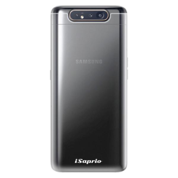 Odolné silikonové pouzdro iSaprio - 4Pure - mléčný bez potisku - Samsung Galaxy A80
