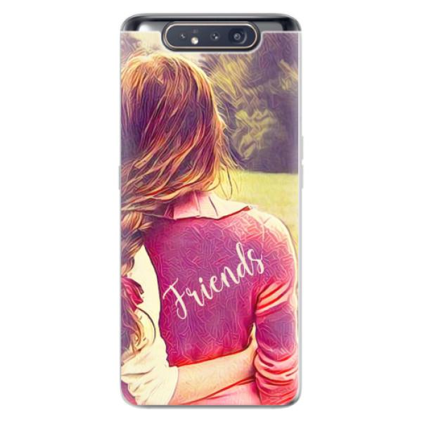 Odolné silikonové pouzdro iSaprio - BF Friends - Samsung Galaxy A80