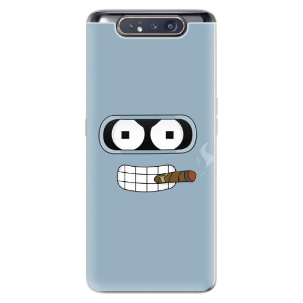 Odolné silikonové pouzdro iSaprio - Bender - Samsung Galaxy A80