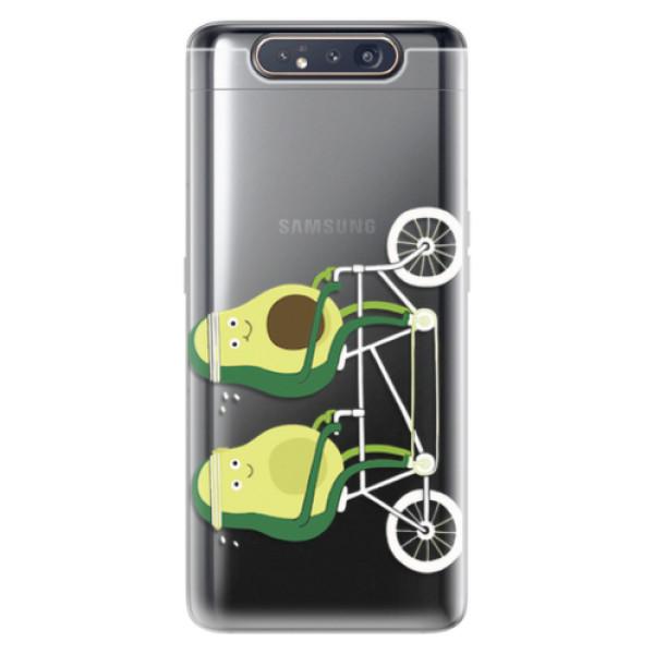 Odolné silikonové pouzdro iSaprio - Avocado - Samsung Galaxy A80