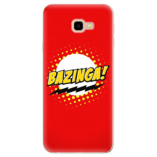 Odolné silikonové pouzdro iSaprio - Bazinga 01 - Samsung Galaxy J4+
