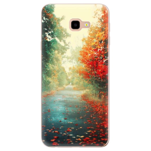 Odolné silikonové pouzdro iSaprio - Autumn 03 - Samsung Galaxy J4+