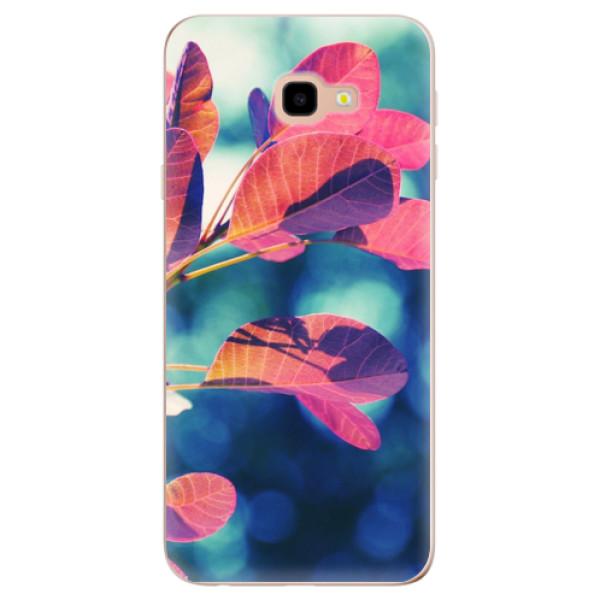 Odolné silikonové pouzdro iSaprio - Autumn 01 - Samsung Galaxy J4+