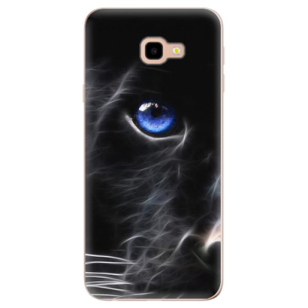 Odolné silikonové pouzdro iSaprio - Black Puma - Samsung Galaxy J4+