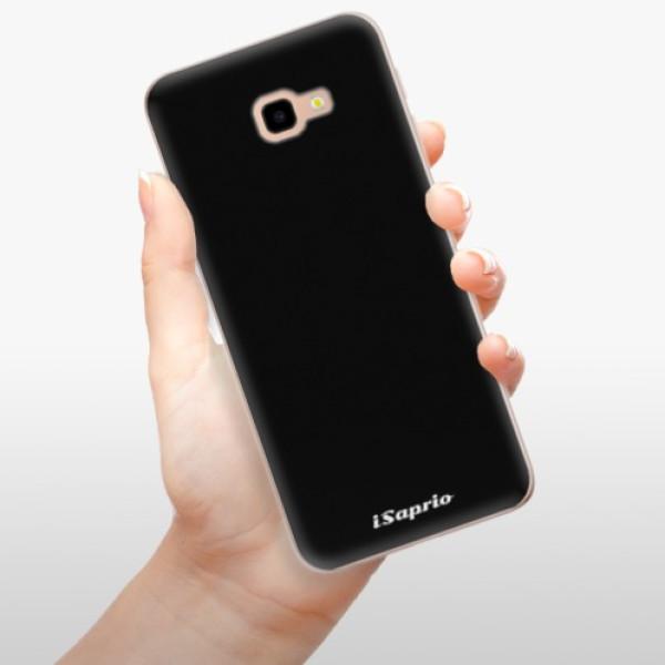 Odolné silikonové pouzdro iSaprio - 4Pure - černý - Samsung Galaxy J4+