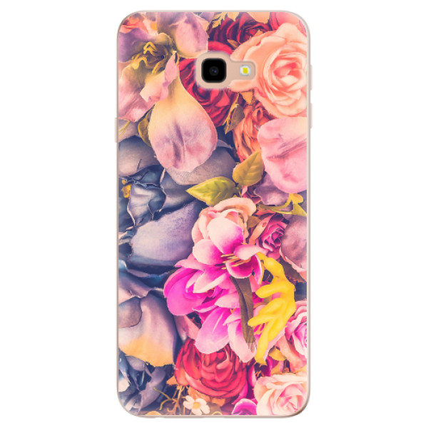 Odolné silikonové pouzdro iSaprio - Beauty Flowers - Samsung Galaxy J4+