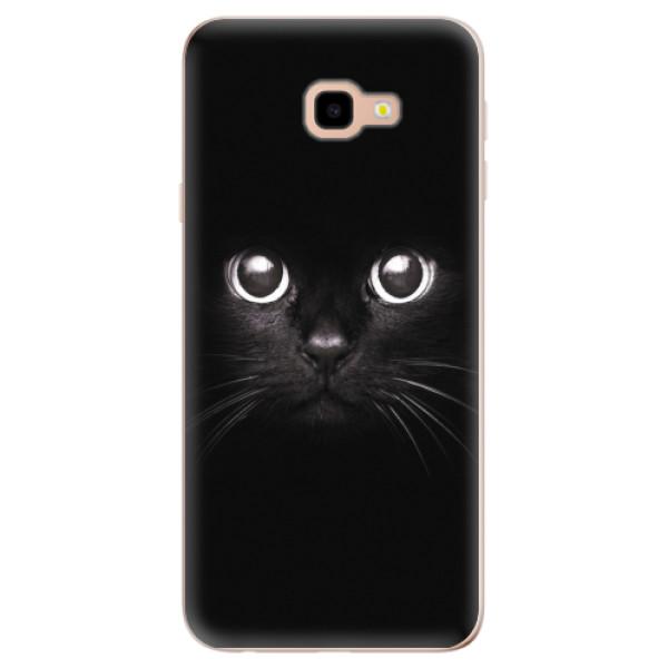 Odolné silikonové pouzdro iSaprio - Black Cat - Samsung Galaxy J4+