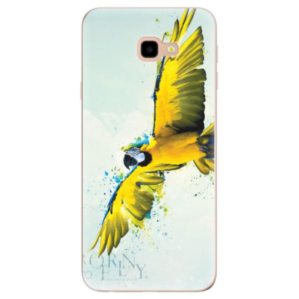 Odolné silikonové pouzdro iSaprio - Born to Fly - Samsung Galaxy J4+
