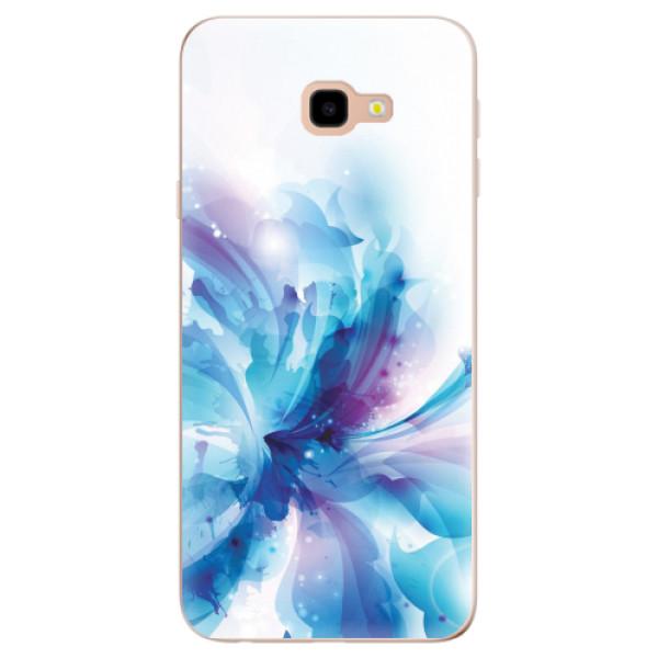 Odolné silikonové pouzdro iSaprio - Abstract Flower - Samsung Galaxy J4+
