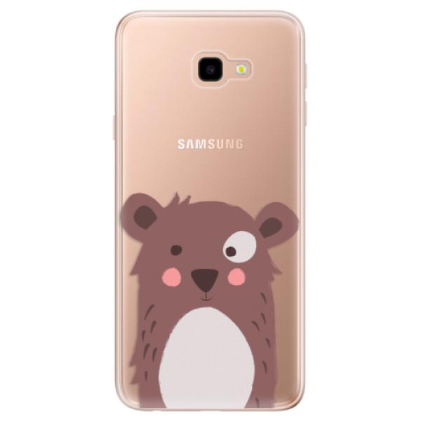 Odolné silikonové pouzdro iSaprio - Brown Bear - Samsung Galaxy J4+