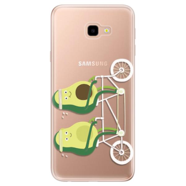 Odolné silikonové pouzdro iSaprio - Avocado - Samsung Galaxy J4+