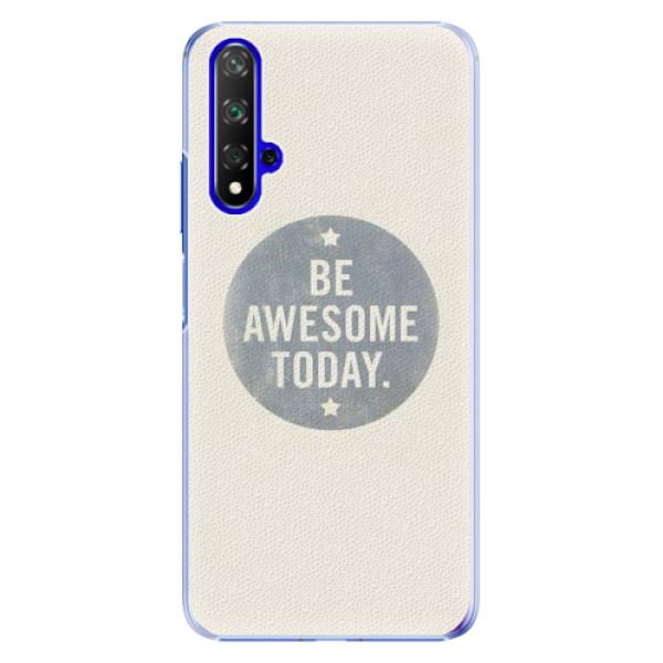 Plastové pouzdro iSaprio - Awesome 02 - Huawei Honor 20