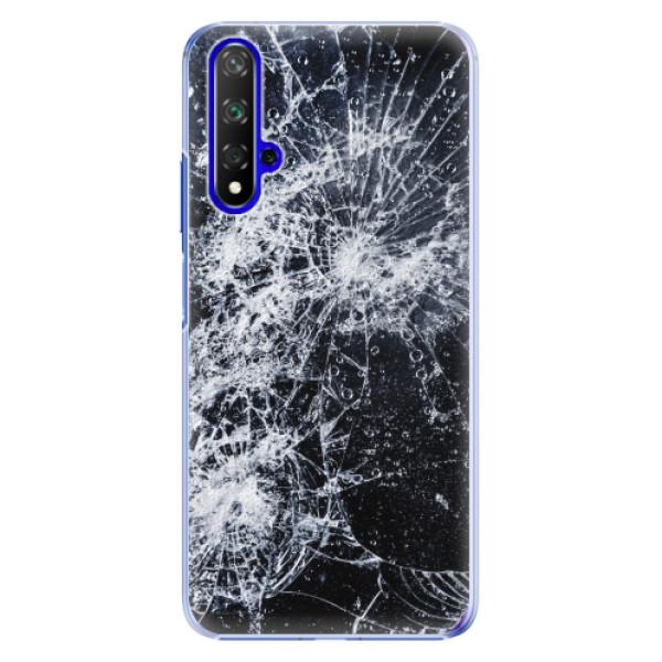 Plastové pouzdro iSaprio - Cracked - Huawei Honor 20