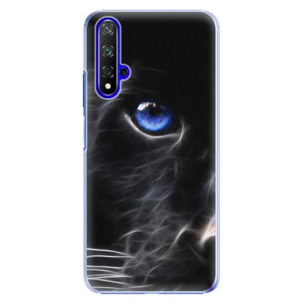 Plastové pouzdro iSaprio - Black Puma - Huawei Honor 20