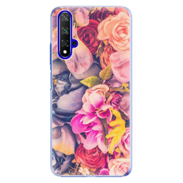 Plastové pouzdro iSaprio - Beauty Flowers - Huawei Honor 20