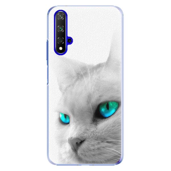 Plastové pouzdro iSaprio - Cats Eyes - Huawei Honor 20