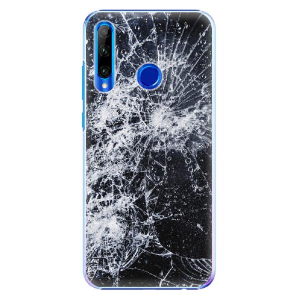 Plastové pouzdro iSaprio - Cracked - Huawei Honor 20 Lite