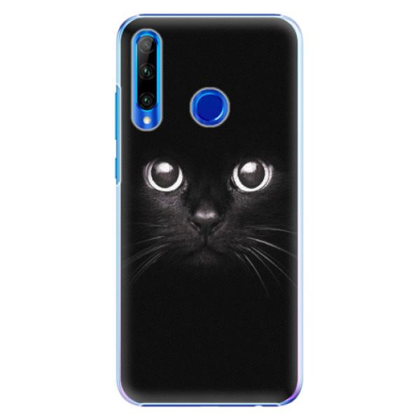 Plastové pouzdro iSaprio - Black Cat - Huawei Honor 20 Lite