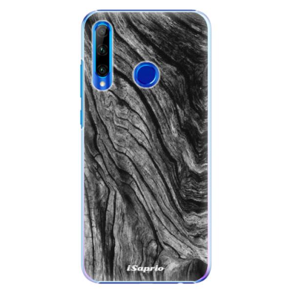Plastové pouzdro iSaprio - Burned Wood - Huawei Honor 20 Lite