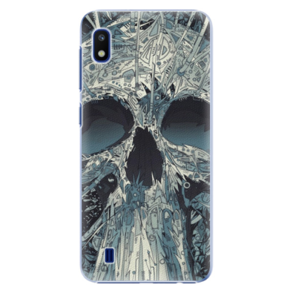 Plastové pouzdro iSaprio - Abstract Skull - Samsung Galaxy A10