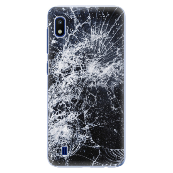 Plastové pouzdro iSaprio - Cracked - Samsung Galaxy A10