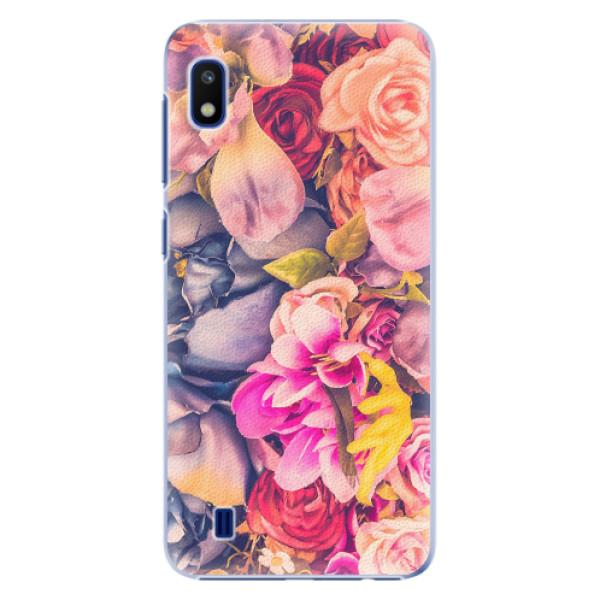 Plastové pouzdro iSaprio - Beauty Flowers - Samsung Galaxy A10