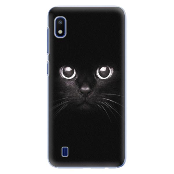 Plastové pouzdro iSaprio - Black Cat - Samsung Galaxy A10