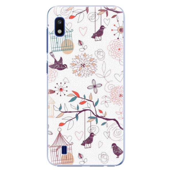 Plastové pouzdro iSaprio - Birds - Samsung Galaxy A10