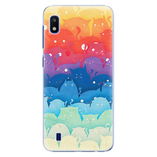 Plastové pouzdro iSaprio - Cats World - Samsung Galaxy A10