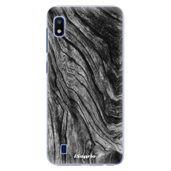 Plastové pouzdro iSaprio - Burned Wood - Samsung Galaxy A10