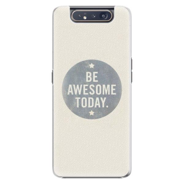 Plastové pouzdro iSaprio - Awesome 02 - Samsung Galaxy A80