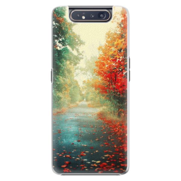 Plastové pouzdro iSaprio - Autumn 03 - Samsung Galaxy A80