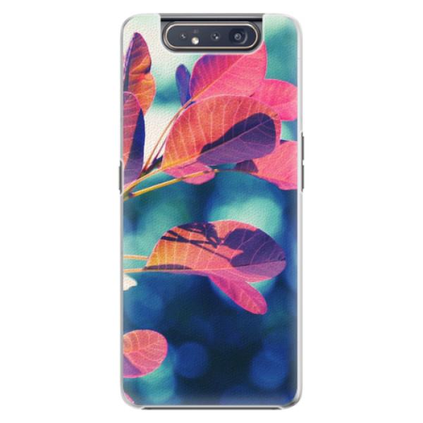 Plastové pouzdro iSaprio - Autumn 01 - Samsung Galaxy A80