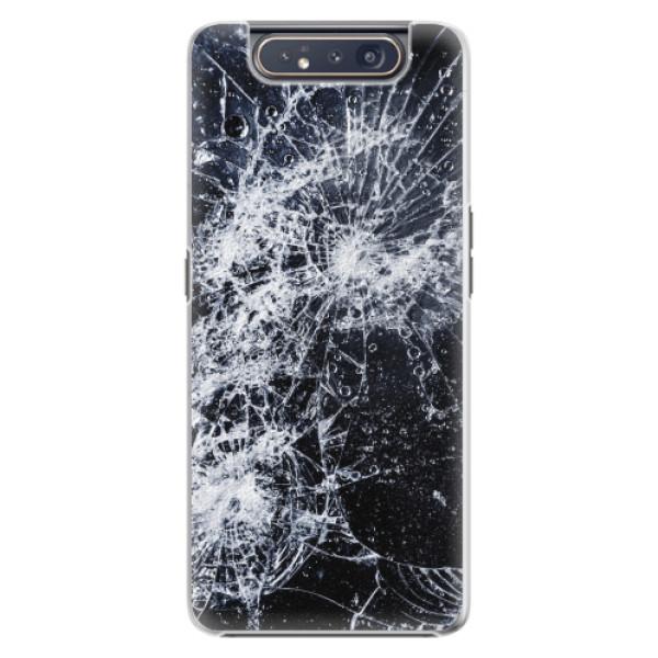 Plastové pouzdro iSaprio - Cracked - Samsung Galaxy A80