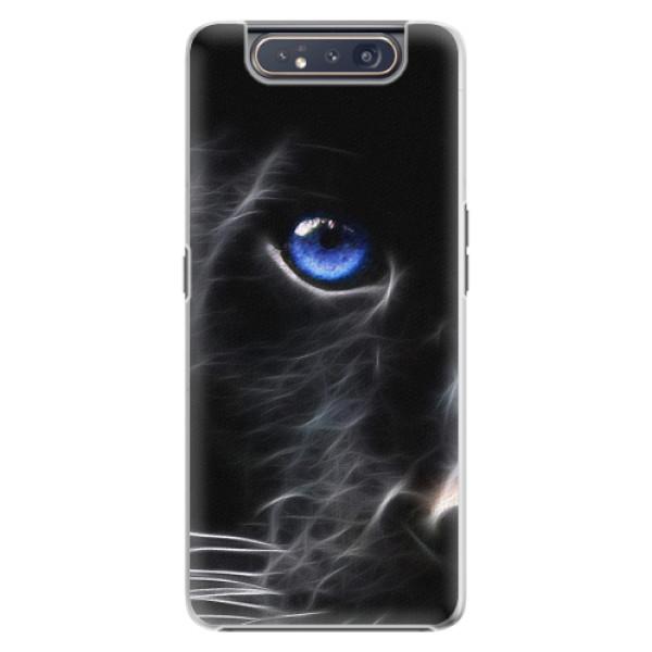 Plastové pouzdro iSaprio - Black Puma - Samsung Galaxy A80