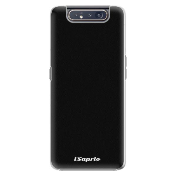 Plastové pouzdro iSaprio - 4Pure - černý - Samsung Galaxy A80